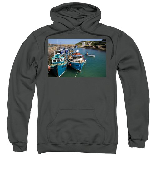Helvick Harbour, Ring Gaeltacht Region Sweatshirt