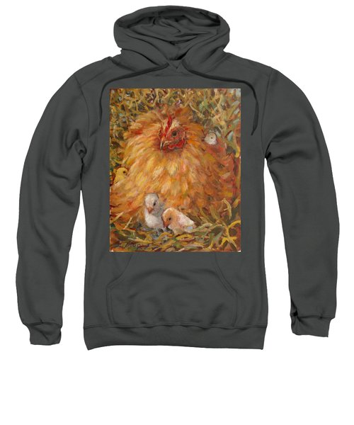 Hen And Chicks Sweatshirt