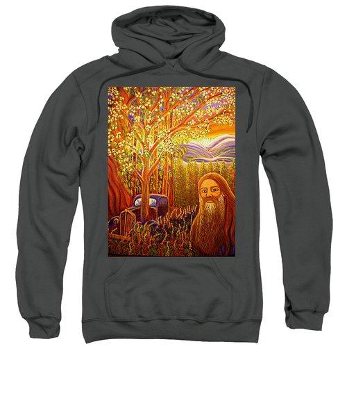 Hidden Mountain Man Sweatshirt