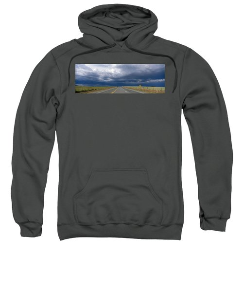 Highway Near Blanding, Utah, Usa Sweatshirt