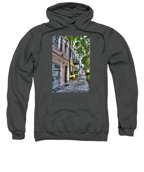 Historic Rainbow Row Sweatshirt