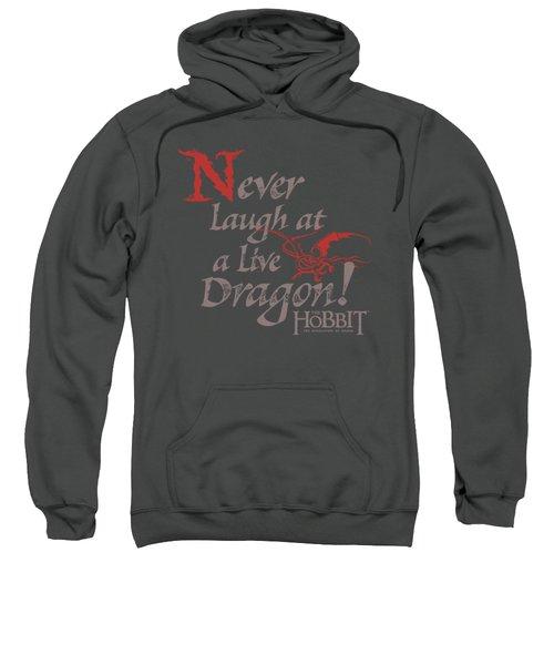 Hobbit - Never Laugh Sweatshirt