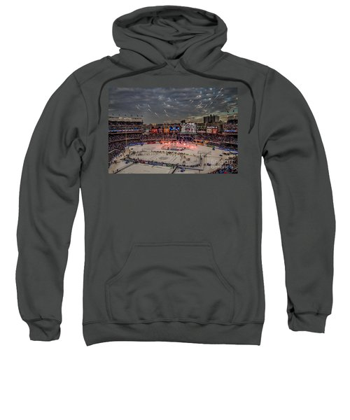 Hockey At Yankee Stadium Sweatshirt