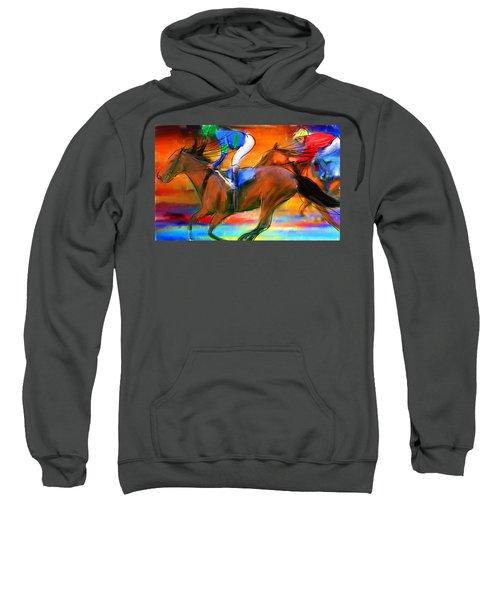 Horse Racing II Sweatshirt