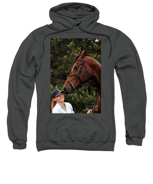 Horsie Nudge Sweatshirt