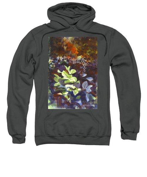 Hostas In The Forest Sweatshirt