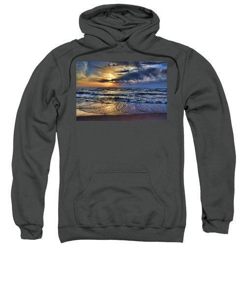 Hot April Sunset Saugatuck Michigan Sweatshirt