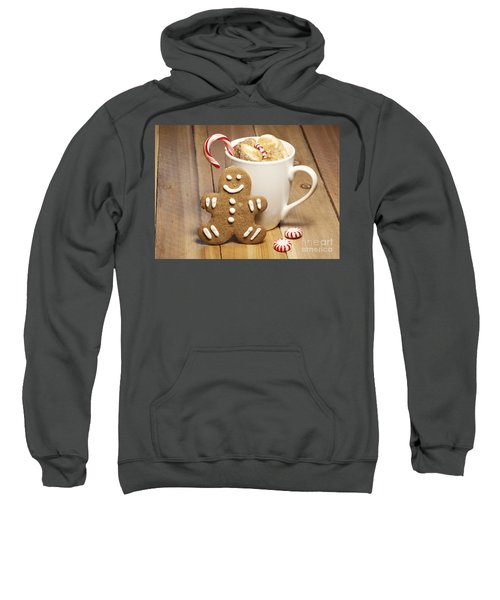 Hot Chocolate Toasted Marshmallows And A Gingerbread Cookie Sweatshirt