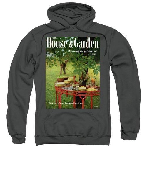House And Garden Cover Sweatshirt