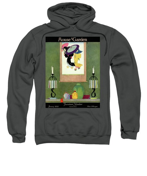 House And Garden Furniture Number Sweatshirt