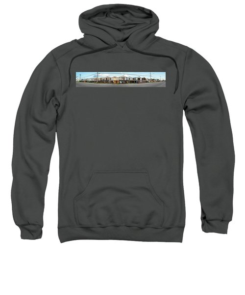 Houses Destroyed After Hurricane Sweatshirt