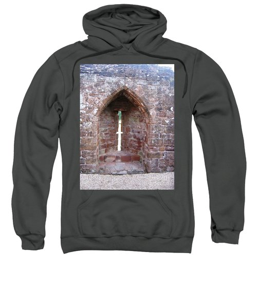 Sweatshirt featuring the photograph Huddle Here by Denise Railey