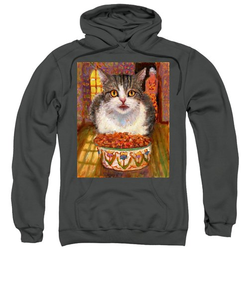 Hungry Cat Sweatshirt