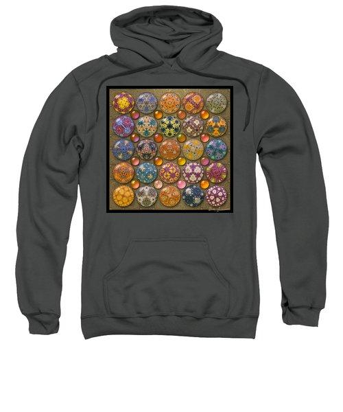Hyperbolicrochet Kaleidoscope Quilt Sweatshirt