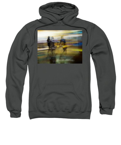 Sweatshirt featuring the photograph I Had A Dream That You And Your Friends Were There by Alex Lapidus
