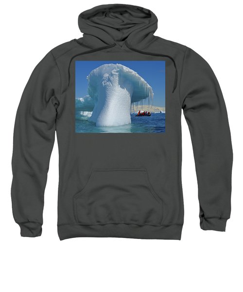 Icicles For Two Sweatshirt