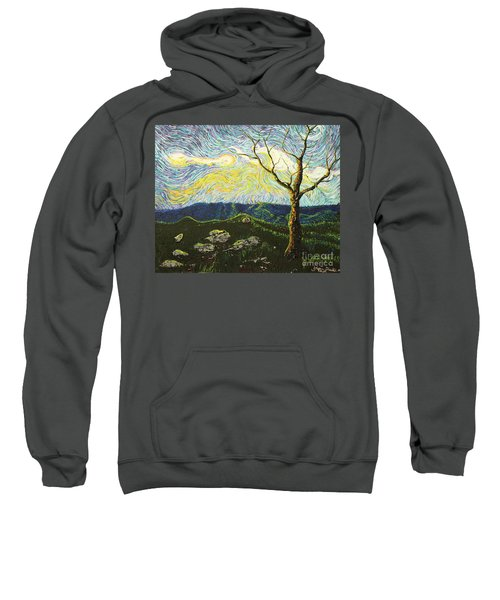 In Between A Rock And A Heaven Place Sweatshirt
