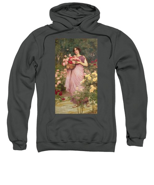 In The Garden Of Roses Sweatshirt
