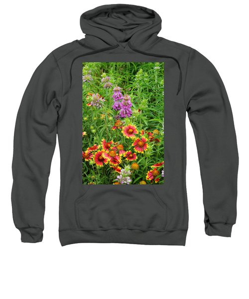 Indian Blankets And Lemon Horsemint Sweatshirt