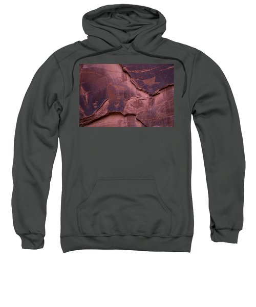 Indian Cave Art Sweatshirt
