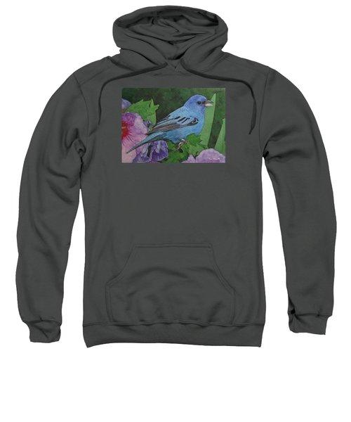Indigo Bunting No 2 Sweatshirt by Ken Everett