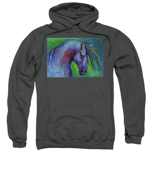 Indigo Horse Sweatshirt