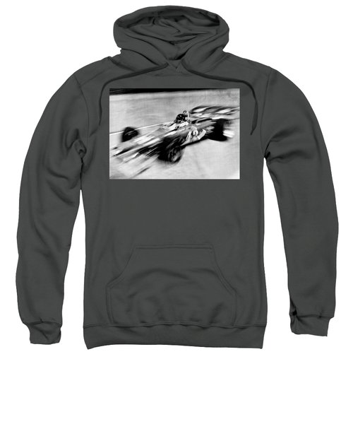 Indy 500 Race Car Blur Sweatshirt