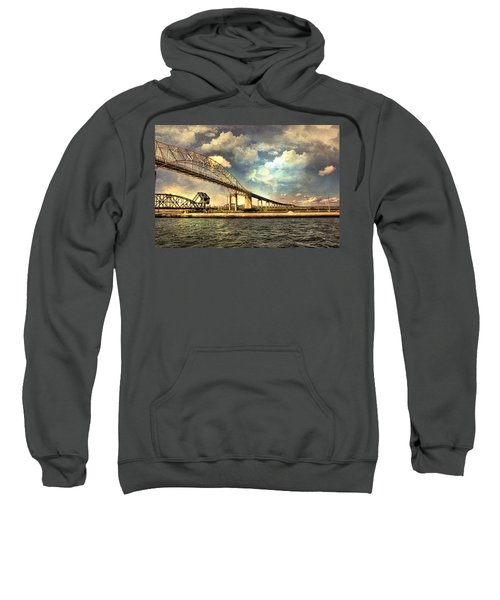 International Bridge Sault Ste Marie Sweatshirt