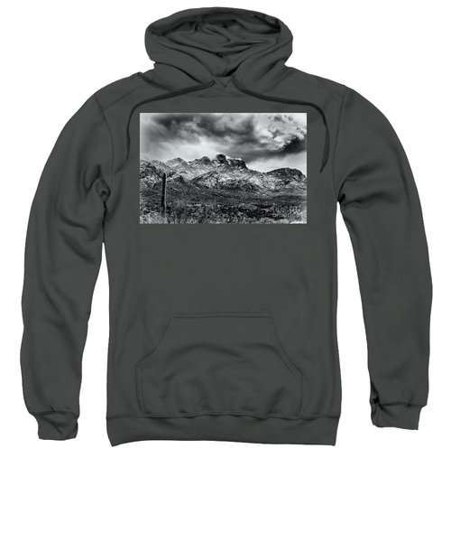 Sweatshirt featuring the photograph Into Clouds by Mark Myhaver
