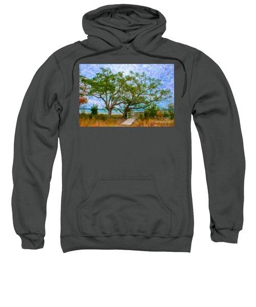 Island Time On Daniel Island Sweatshirt