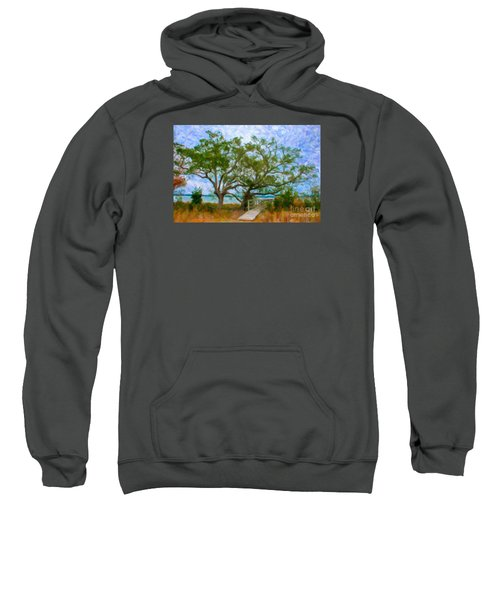 Island Time On Daniel Island Sweatshirt