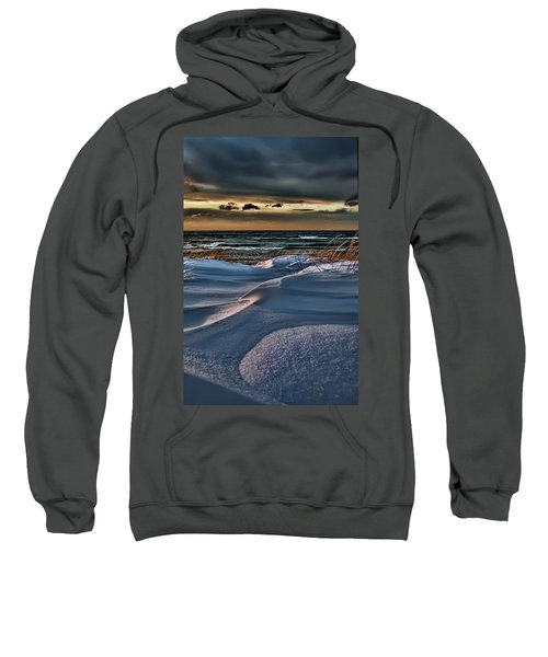 January Saugatuck Blues Michigan Sweatshirt