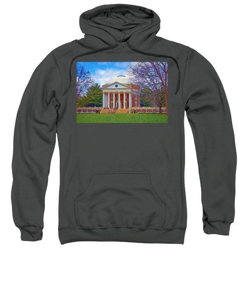 Jefferson's Rotunda At Uva Sweatshirt