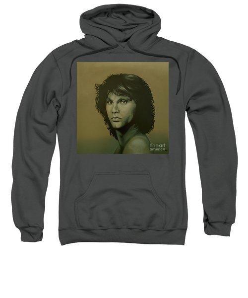Jim Morrison Painting Sweatshirt