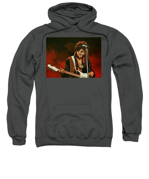 Jimi Hendrix Painting Sweatshirt