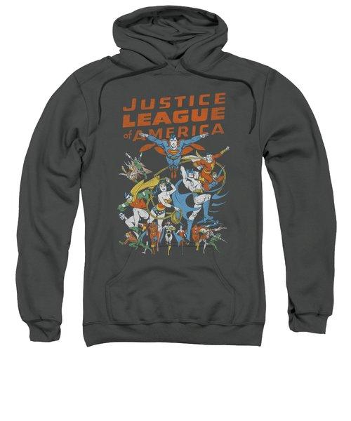 Jla - Big Group Sweatshirt