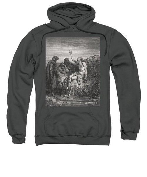 Job And His Friends Sweatshirt