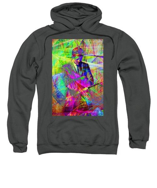 John Fitzgerald Kennedy Jfk In Abstract 20130610 Sweatshirt