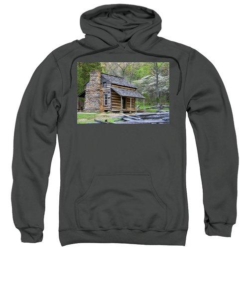 John Oliver Cabin In A Forest, Cades Sweatshirt