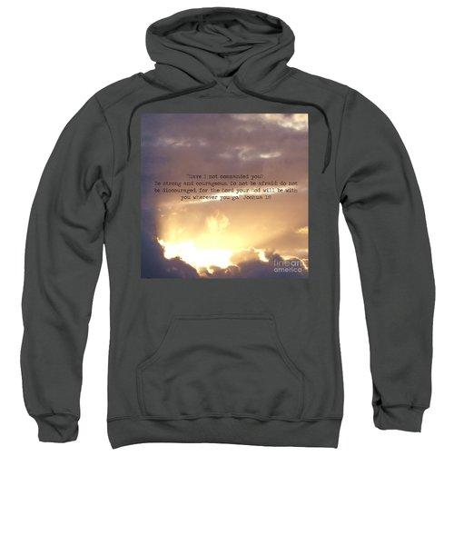 Joshua 1 Sweatshirt