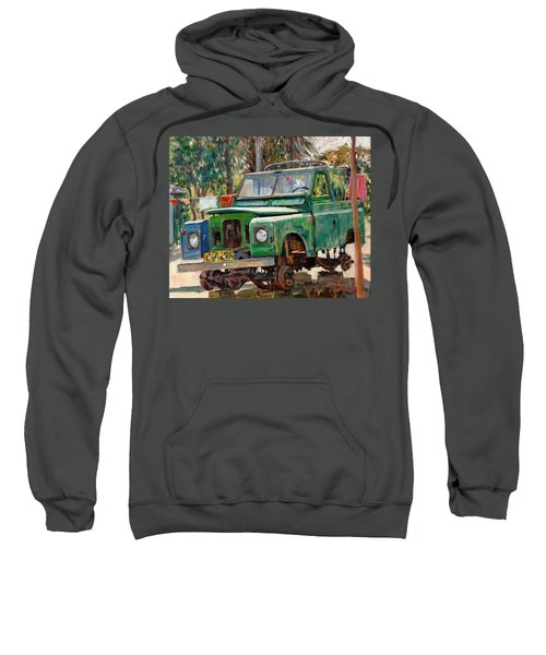 Journeys End, 2006 Oil On Canvas Sweatshirt