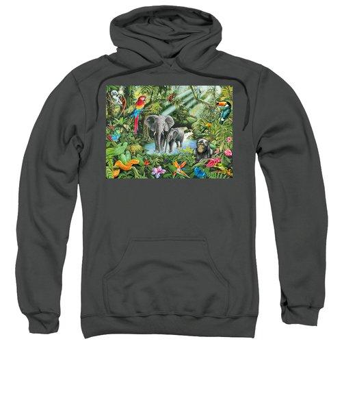 Jungle Sweatshirt by Mark Gregory