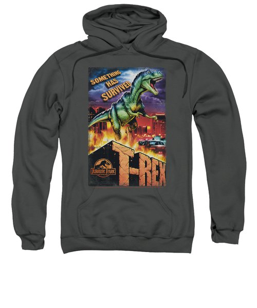 Jurassic Park - Rex In The City Sweatshirt by Brand A
