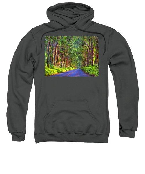 Kauai Tree Tunnel Sweatshirt