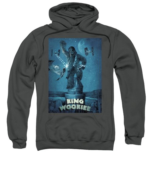 King Wookiee Sweatshirt by Eric Fan