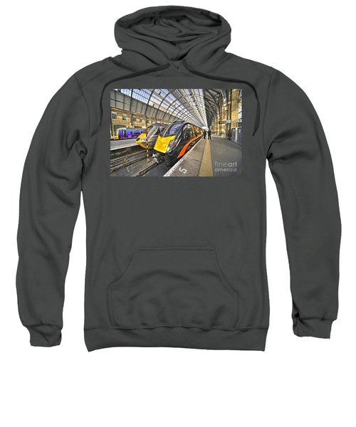 Kings Cross Variety  Sweatshirt by Rob Hawkins