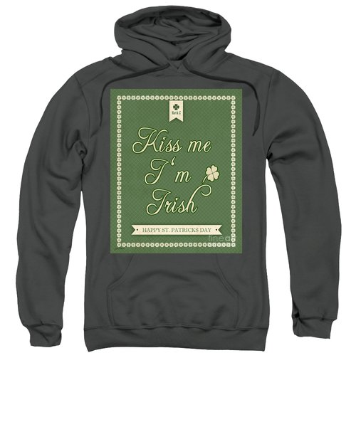 Kiss Me I'm Irish-jp2453 Sweatshirt