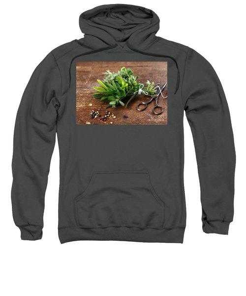 Kitchen Herbs Sweatshirt