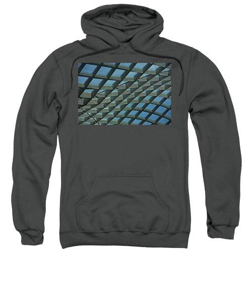 Kogod Courtyard Ceiling #6 Sweatshirt