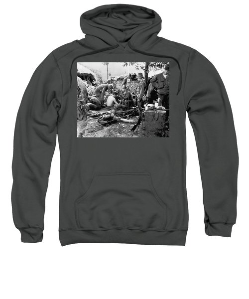 Korean War Wounded Sweatshirt